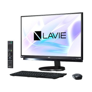 新品LAVIE Desk All-in-one DA770/HAB PC-DA770HAB [ファインブラック]