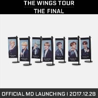 【BTS正規品】THE WINGS TOUR THE FINAL【BTS MINI FLAG】  防弾少年団  ミニフラッグ BTSグッズ