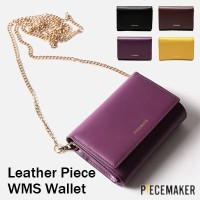 [PIECE MAKER] Leather Piece WMS Wallet / 4つの色 / PEM1704-10 / 韓国のベストセラーバッグ/ギフト/男女バッグ