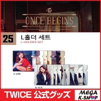 TWICE L-HOLDER SET[TWICE ONCE BEGIN MD][JYP][公式グッズ]