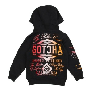 【SALE 28%OFF】ガッチャキッズ Gotcha Kid's KIDS LIMITEDセットアップパーカー (クロ)