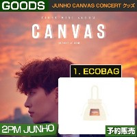 1. ECOBAG / JUNHO CANVAS CONCERT グッズ/ 日本国内配送
