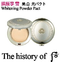 The history of 后 [韓国コスメ ドフー] 拱辰享 雪 美.白 光パクト (SPF45/PA+++) 13g / KOREA76 COSMETIC /韓国コスメ /フリーサンプル