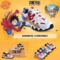 2018限定版!!ワンピースコラボー100%正規品 [Skechers x One piece] 新作入荷!! Delight soda 2 Collaboration Limited...
