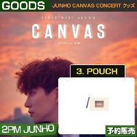3. POUCH / JUNHO CANVAS CONCERT グッズ/ 日本国内配送