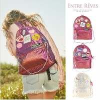 [ENTRE REVES] 21890円→19890円★【カートクーポン使用可能】芸能人愛用!SNSで人気  BACKPACK / アントレブ / 実用性も可愛さも♪