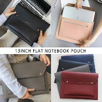 [SWEET MANGO] WITH ALICE 13Inch Flat Notebook Pouch - PCバッグ パソコンバック パソコンケース