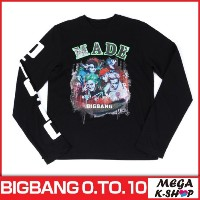 BIGBANG -BIGBANG LONG SLEEVE T-SHIRTS [BIGBANG THE CONCERT 0.TO.10 FINAL IN SEOUL MD][公式グッズ][YG]