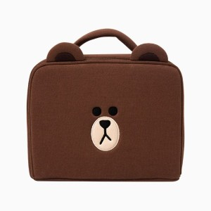 Line Friends Store Official Square Multi Pouch (X Large)