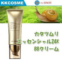 (the saem ザセム) カタツムリエッセンシャル24K BBクリーム SPF38 PA+++ 45ml Snail Essential EX Origin BB Cream