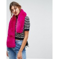 New Look  レディース アクセサリー  送料無料 Pink Pink Faux Fur Stole