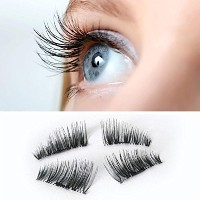 (つけまつげ) False Eye Lashes Natural Lavany NEW Ultra-thin 0.2mm Magnetic Eye Lashes 3D Reusable False..