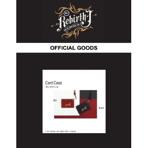 JYJ キム・ジェジュン 2017 THE REBIRTH OF J ASIA TOUR in JAPAN 公式コンサートグッズ CARD CASE