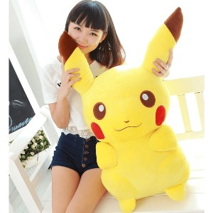 Pikachu Plush Toys with High Quality  Pokemon GO Plush toys for Children Gifts(65cm)