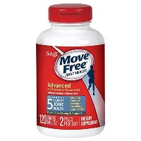 Move Free Advanced Plus MSM and Vitamin D3  120 tablets - Joint Health Supplement with Glucosamine a