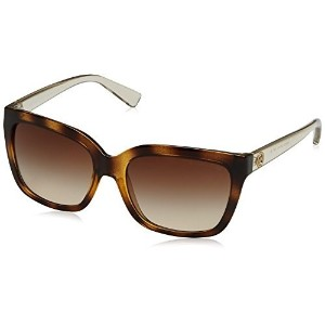Michael Kors Womens Sandestin Tortoise Smokey Transparent Sunglasses