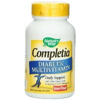 (Nature s Way) Nature s Way Completia Diabetic Multivitamin (iron-free) 90 Tablets (2010-05-13)