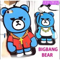 ★送料無料★限定セール!BigBang G-DRAGON BEAR krunk 熊 iPhone6/6s iPhone6 plus/6s plus iPhoneケース/スマートフォンケース...