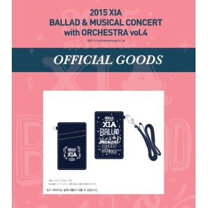 JYJ 2015 XIA BALLAD MUSICAL CONCERT with ORCHESTRA vol.4 公式グッズ CARD CASE