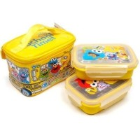 ★School Bus Lunch Box ★2Tier Stainless Lunch Box