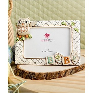 【Baby Owl Picture Frame Horizontal 3d (8 X 6 Holds a 6 X 4 Picture) From Gifts By Fashioncraft by...