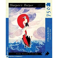 【New York Puzzle Company Harpers Bazar Stranded 750ピース ジグソーパズル】