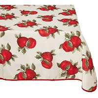 High Quality VL-68851-EURO-APPLES-2 Classic Euro Apples Tablecloth with Large Apples Design, 52 x 70