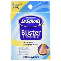 Dr. Scholl's Blister Treatment, Sterile Cushions, 8-Count Boxes by Dr. Scholl's