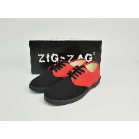 """ZIG-ZAG SHOESジグザグ【7251】A.K.A. """"THE WINO"""" (BLACK/RED) ローカット スニーカー"""