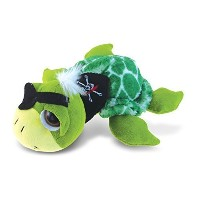 "【PuzzledスーパーソフトグリーンPirate Sea Turtle Plush、9 ""】 b00lxm42jy"