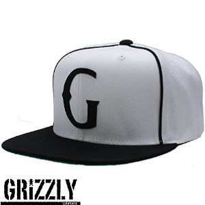 Diamond SUPPLY.CO Grizzly ( ダイヤモンドサプライ グリズリー ) Native G Snapback in White
