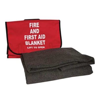 Swift First Aid 62 X 80 90% Lightweight Wool Fire and First Aid Blanket in Cordura Bag by Honeywell
