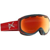 Anon Hawkeye Goggle Crackle / Red Solex