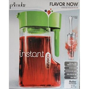 PrimulaインスタントFlavor Now Infusion Pitcher – グリーン – 2.7 Quart