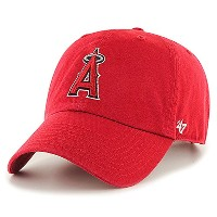 47Brand 47ブランド Los Angeles Angels Home '47 Clean Up Cap レッド