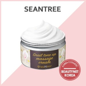 [SEANTREE] Snail Tone Up Massage Cream 200g / Easy and Simple Self Massage / Beautynet Korea