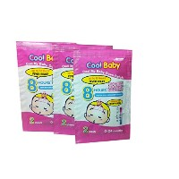 2 Packs of Cool Baby Fever, Reduce Fever for Kids (0-24 Months) 6 Sheets / Pack.