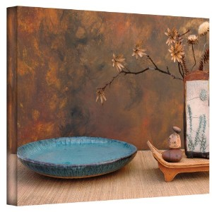 Zen Still Life gallery-wrappedキャンバスアートby Elena Ray 16x24 0ray024a1624w