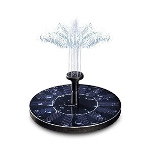 MouJi Solar Power Fountain Pump Water Feature Pool Pump Fountain Garden Pond Decoration ソーラーパワー噴水ポンプ