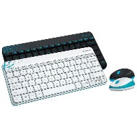 Logitech MK240 2.4Ghz Wireless Mouse & Keyboard Set [English/Korean]