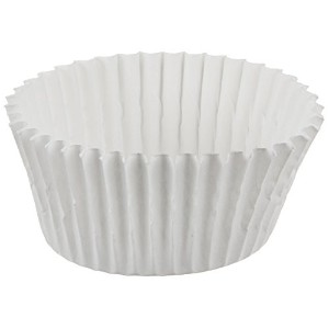 【Cybrtrayd 1000 Count No.5 Glassine Paper Candy Cups, White by CybrTrayd】