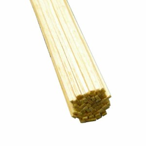 【Midwest Products 6023 Micro-Cut Quality Balsa 36 Inch Strip Bundle, 0.0625 x 0.09375 Inches by...