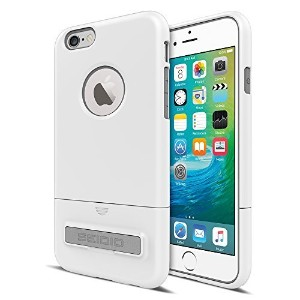 【Seidio SURFACE with Metal Kickstand Case for iPhone 6/6S [Dual-Layer Protection] - Non-Retail...