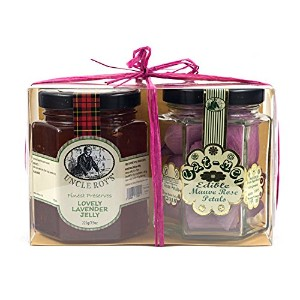 Duo of Lavender Jelly & Mauve Rose Petals