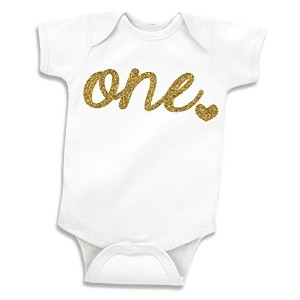 Baby Girls First Birthday Outfit, Girl One Year Old Birthday (12-18 Months) by Bump and Beyond...
