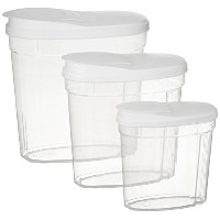 Frigidaire 6 Piece Cereal and Food Storage Set by Frigidaire