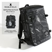 MAKAVELIC/マキャベリック デイパック 「CHASE」 RECTANGLE DAYPACK BLACK EDITION 3107-10124[メンズ バッグ リュックサック リュック...