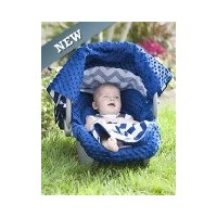 【Carseat Canopy 5 Pc Whole Caboodle (Jagger) Baby Infant Car Seat Cover Kit with Minky Fabric by...