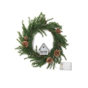 【54%OFF】Wreath-small House M LEDライト リース ゲーム・おもちゃ > その他