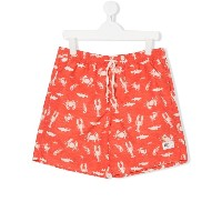American Outfitters Kids Lobster ショートパンツ - イエロー&オレンジ